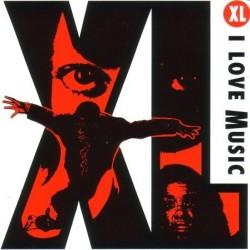 """XL (3) I Love Music 12"""""""